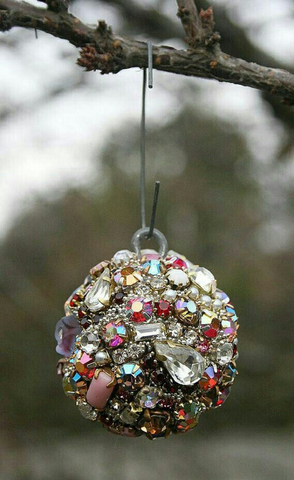 Dazzling Christmas Ornaments With Jewelry | AGM Home Store