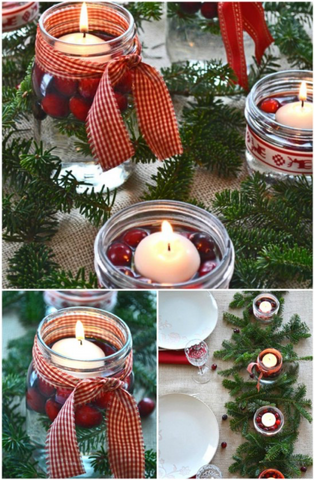 How Mason Jars Can Be Used in Christmas Decorations | AGM Home Store