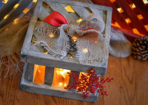 A Light Filled Porch Present to Decorate for Christmas | AGM Home Store