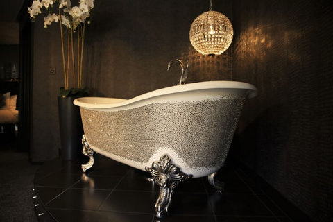 How Swarovski Crystals Have Transformed Bathroom Design | AGM Home Store