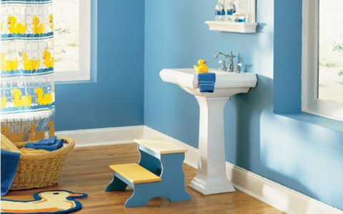 Challenges of Designing a Kids' Bathroom | AGM Home Store