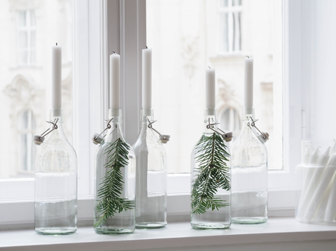 How to Use Candle Holders as Christmas Decorations | AGM Home Store
