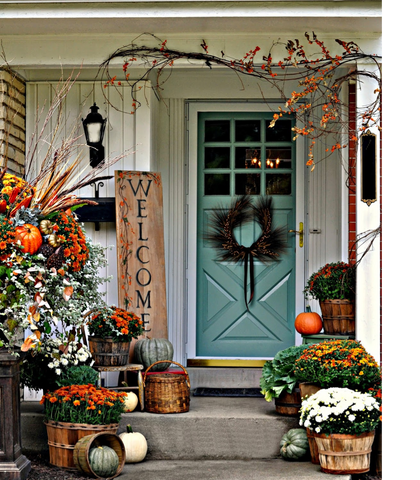 Designing the Perfect Thanksgiving Flower Buckets | AGM Home Store