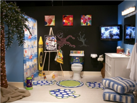 Kids Designer Bathroom | AGM Home Store