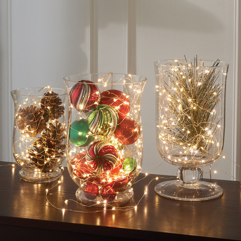 Using Glass for Christmas Decorations | AGM Home Store