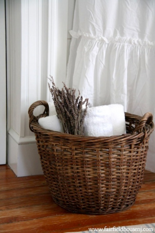 How to Use Wicker Baskets to Organize Your Bathroom | AGM Home Store