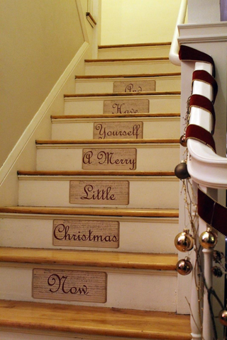 Decorting Your Stairs for Christmas | AGM Home Store
