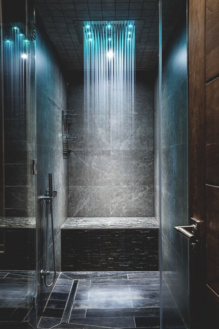 Designer Showerheads with LED Lighting | AGM Home Store