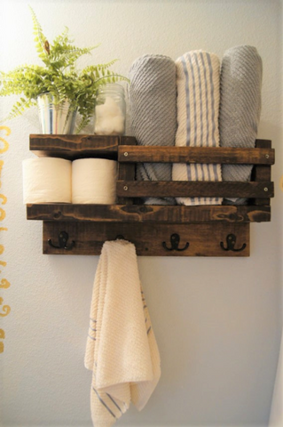 Bathroom Towel Hook and Rack Ideas You Have to Try | AGM Home Store