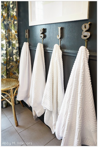 How to Use Towel Hooks To Organize Your Bathroom | AGM Home Store