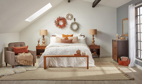 Cozy Bedrooms for All Thanksgiving Guests | AGM Home Store