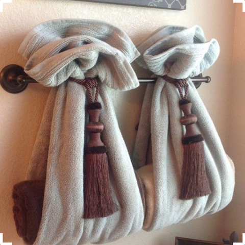 Bathroom Towel Decor and Design Ideas You Have to Try | AGM Home Store