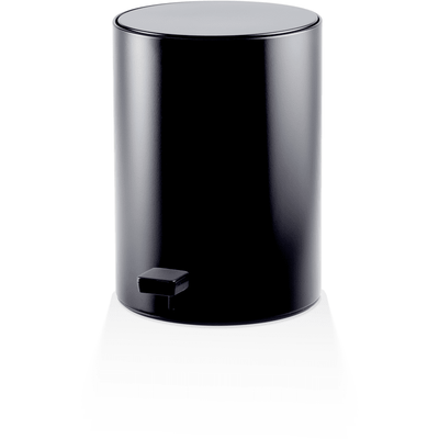 DWBA Round Bin Step Trash Can Pedal Wastebasket with Lid 6L Waste Receptacle - AGM Home Store LLC