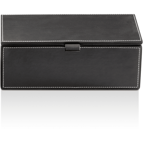 BROWNIE BMD2 Artificial Leather Cosmetic Storage Makeup and Jewelry Beauty Box with Lid - AGM Home Store LLC
