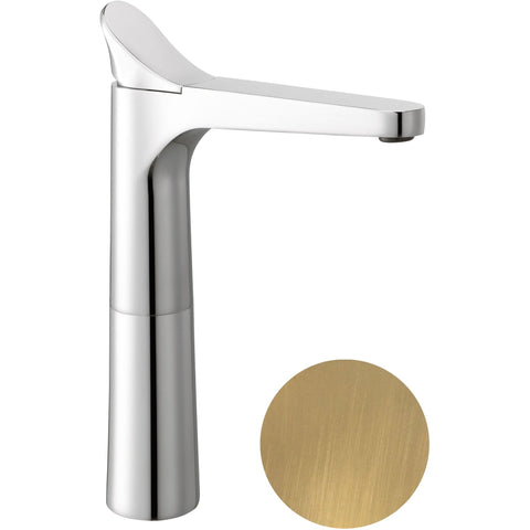 Beck Single Lever Handle Bathroom Vessel Filler Tall Basin Faucet - AGM Home Store LLC