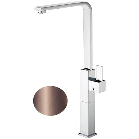 Treh Single Lever Handle Bathroom Vessel Filler Tall Lavatory Basin Faucet - AGM Home Store LLC