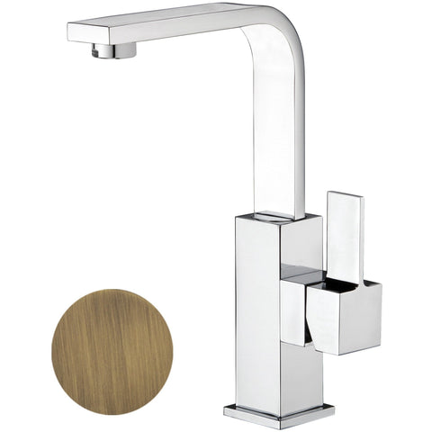 Treh Single Lever Handle Bathroom Lavatory Basin Faucet With Pop-up Drain - AGM Home Store LLC