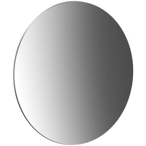 Frasco Self Adhesive Frameless Cosmetic Magnifying Makeup Mirror With Hinge - AGM Home Store LLC