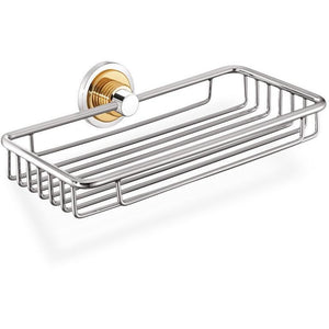 SCBA Versus Wall Mounted Soap Dish Holder Tray Soap Holder, Brass - AGM Home Store LLC
