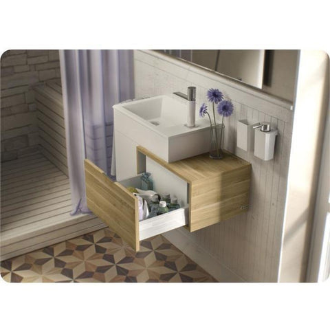 Sonia PUZZLE Washbasin 20 inches Single Drop-In Rectangular RX4 Bathroom Sink - AGM Home Store LLC