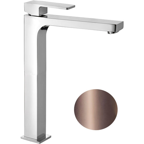 Unoh Single Lever Handle Bathroom Vessel Filler Tall Lavatory Basin Faucet - AGM Home Store LLC