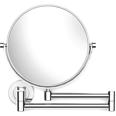 Archie Wall 3X Cosmetic Makeup Magnifying Doble Sided Extendable Mirror Chrome - AGM Home Store LLC