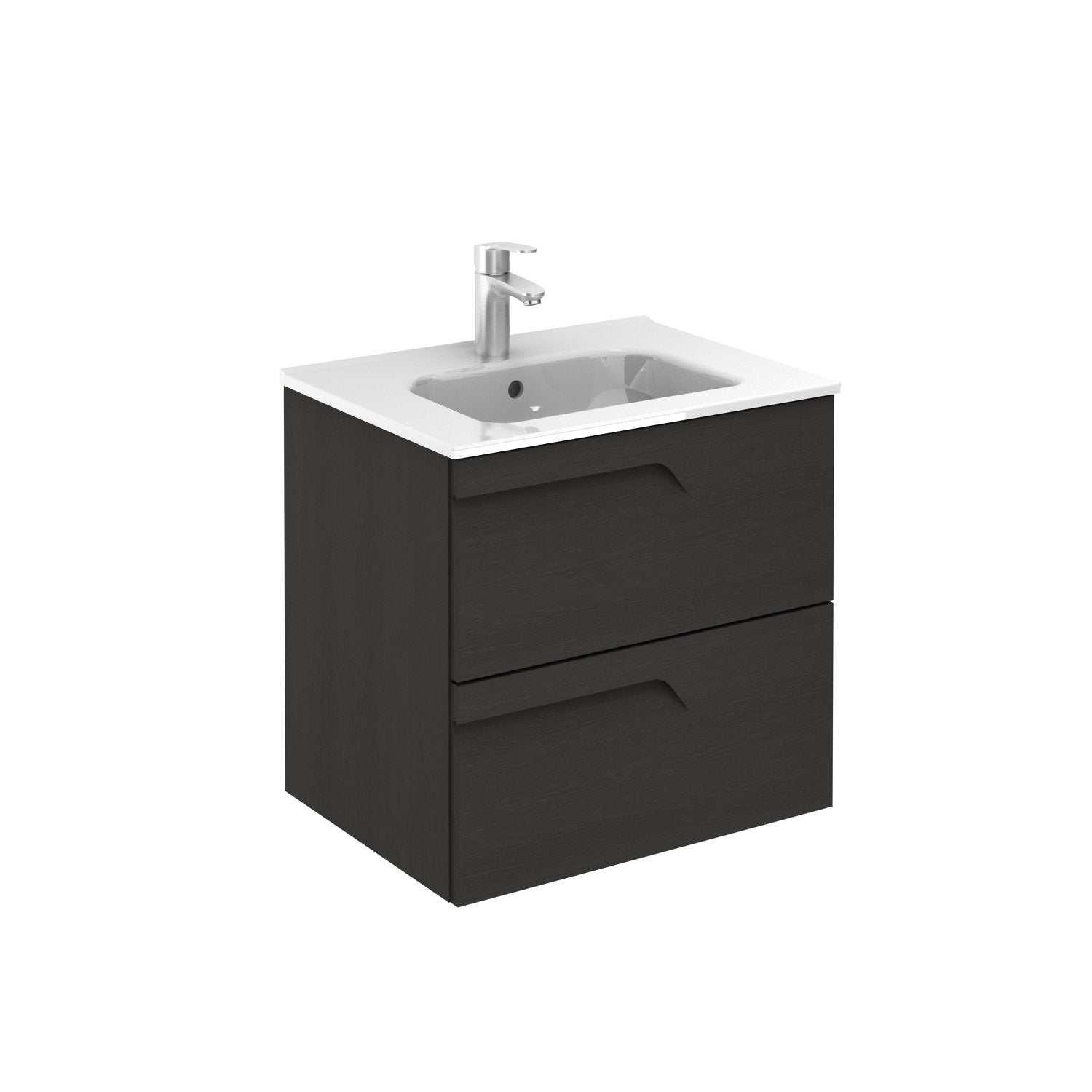 Sku 125721 123341 Item 125721 123341 Brand Royo Vitale 24 Inches Wall Mounted Modern Bathroom Vanity 2 Drawer Wenge With Basin Bathroom Vanities And Sink Consoles Royo Wenge 1100 00 1200 00 Wall Mounted Engineered Wood Ceramic 20 To 24