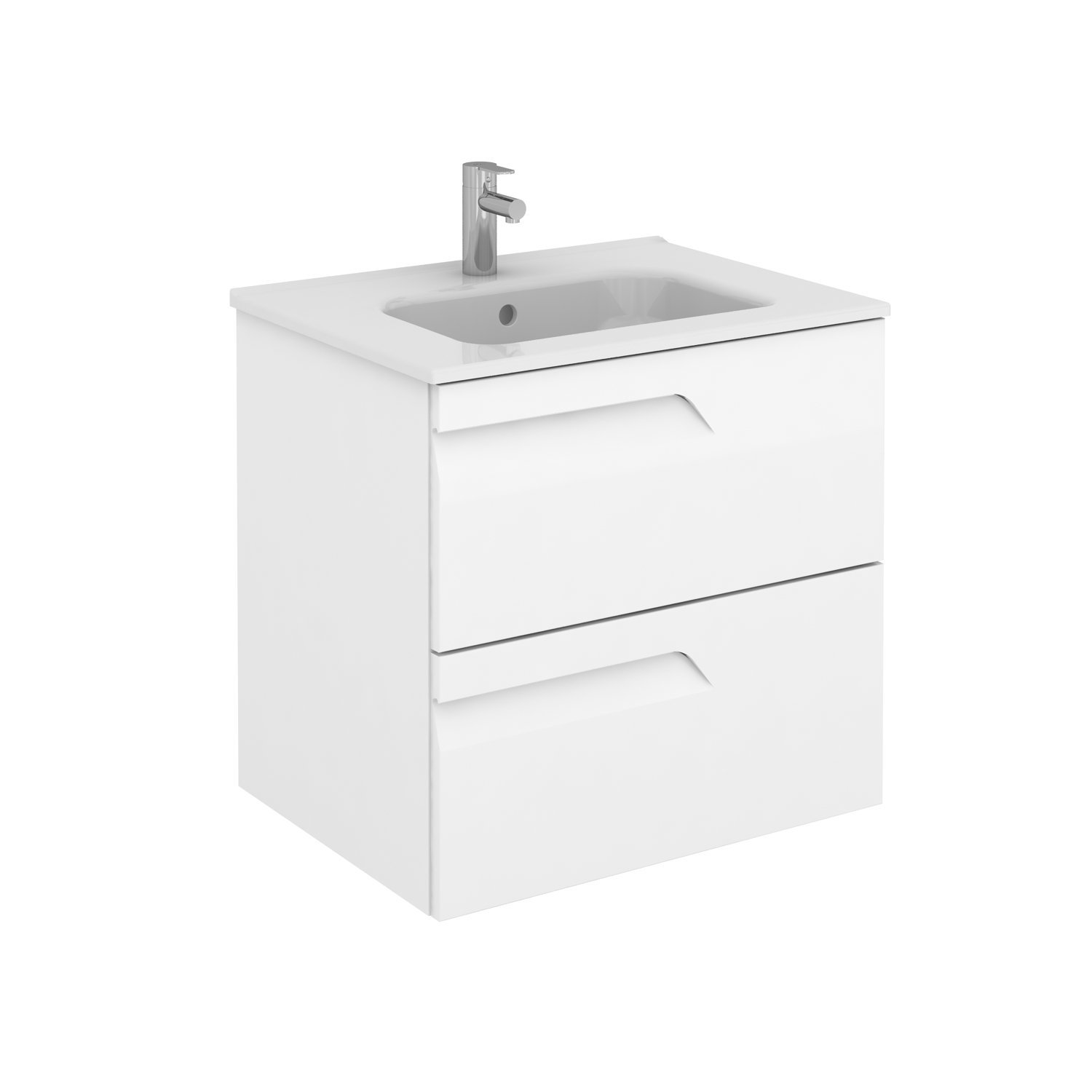 Sku 125719 123341 Item 125719 123341 Brand Royo Vitale 24 Inches Wall Mounted Modern Bathroom Vanity 2 Drawer White With Basin Bathroom Vanities And Sink Consoles Royo White 1100 00 1200 00 Wall Mounted Engineered Wood Ceramic 20 To 24