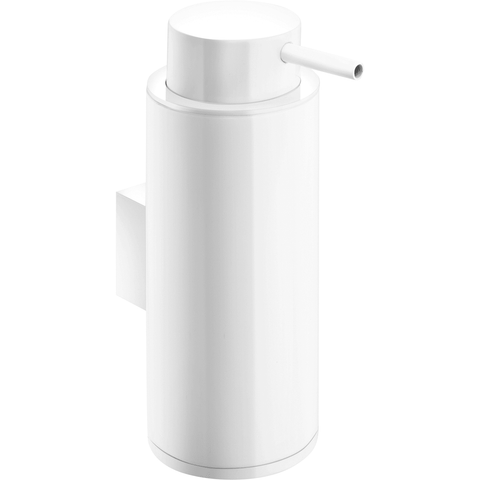 Britta Wall Mounted Pump Soap Lotion Dispenser for Bath, Kitchen Brass Coated - AGM Home Store LLC