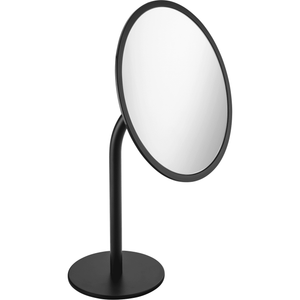 Britta Free Standing 3X Cosmetic Makeup Magnifying Mirror Brass Coated - AGM Home Store LLC