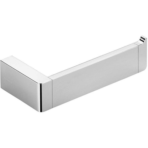 Ext Wall Mounted Toilet Paper Holder Bath Tissue Roll Paper Dispenser, Chrome - AGM Home Store LLC