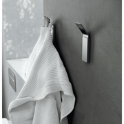 Neli Self-Adhesive Single Towel Robe Hook Hanger Towel Holder, Polished Chrome - AGM Home Store LLC