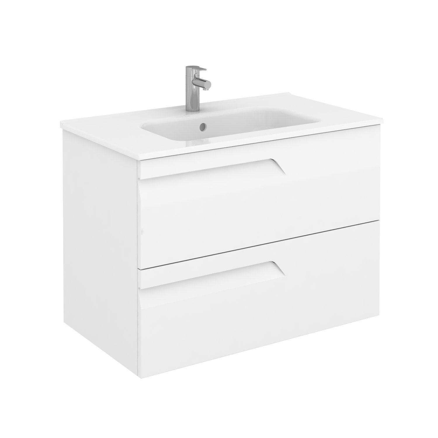 Sku 125722 123343 Item 125722 123343 Brand Royo Vitale 32 Inches Wall Mounted Modern Bathroom Vanity 2 Drawer White With Basin Bathroom Vanities And Sink Consoles Royo White 1200 00 1300 00 Wall Mounted Engineered Wood Ceramic 30 To 34