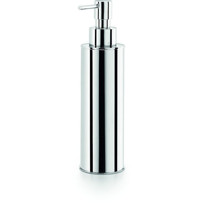 LB Saon Countertop Pump Soap Lotion Dispenser 250ml/8.5oz Kitchen Bath Chrome - AGM Home Store LLC