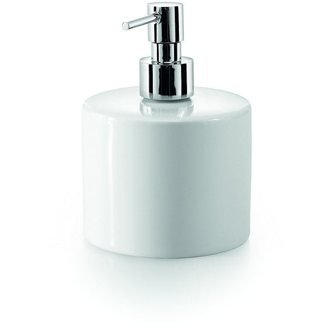 LB Saon Countertop Pump Soap Lotion Dispenser 500ml/ 17oz Kitchen Bath Chrome - AGM Home Store LLC