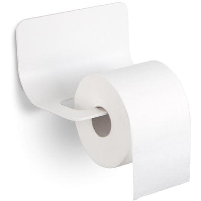 LB Curva Wall Toilet Paper Holder W/O Lid Bath Tissue Roll Paper Dispenser - AGM Home Store LLC
