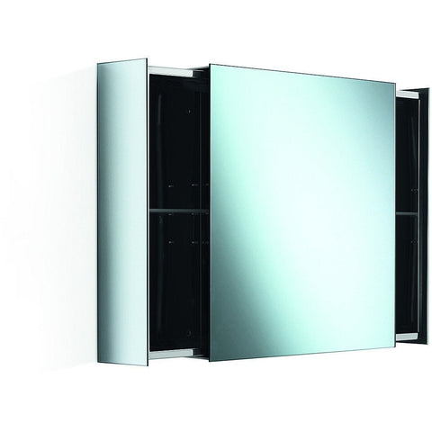 LB Pika Wall Mounted Medicine Cabinet with Mirror & Sliding Drawers - 23.6""