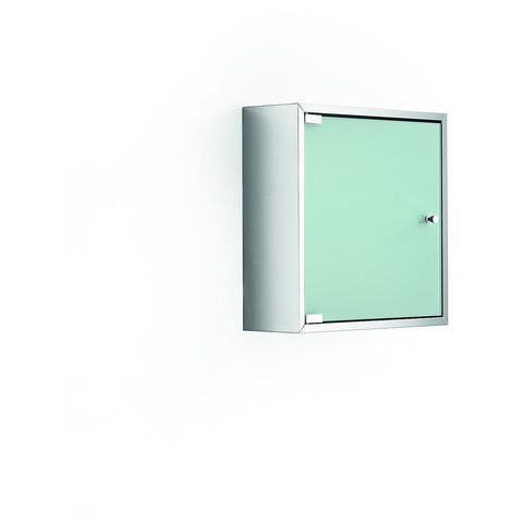 LB Pika Wall Medicine Cabinet Storage Unit with Frosted Glass Door- 15.8""