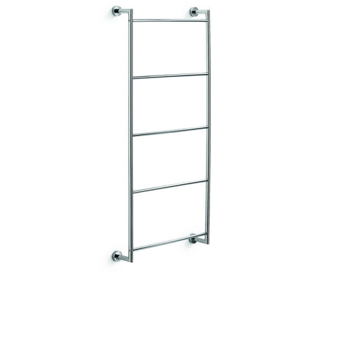 LB Baketo Wall Brass Towel Rack Ladder for Bathroom Spa Towel Hanger Chrome - AGM Home Store LLC