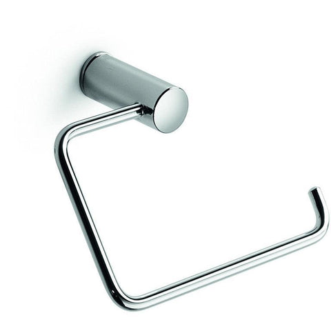 LB Picola Brass Small Towel Ring Holder/ Tissue Paper Holder  Polished Chrome - AGM Home Store LLC