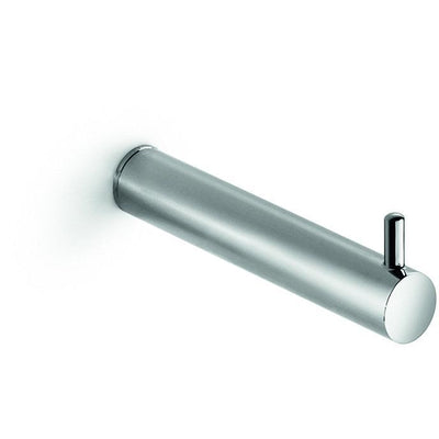 LB Picola Wall Toilet Paper Holder No-Lid Tissue Roll Hanger Dispenser Chrome - AGM Home Store LLC