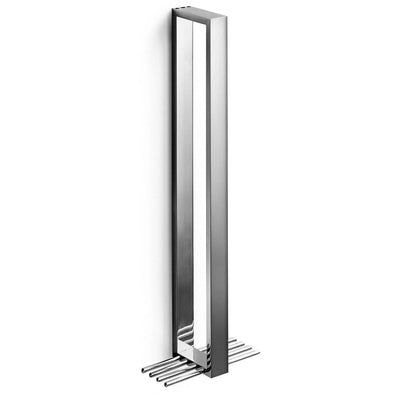 LB Skuara Vertical Towel Bar Rail Holder Hanger for Bathroom Towel Hanging Rack - AGM Home Store LLC