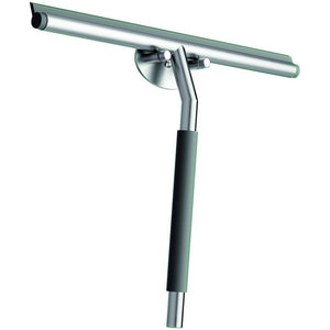 LB Doccia Wiper Blade Squeegee W/ Silicon Hook for Shower Glass, Steel Gray - AGM Home Store LLC