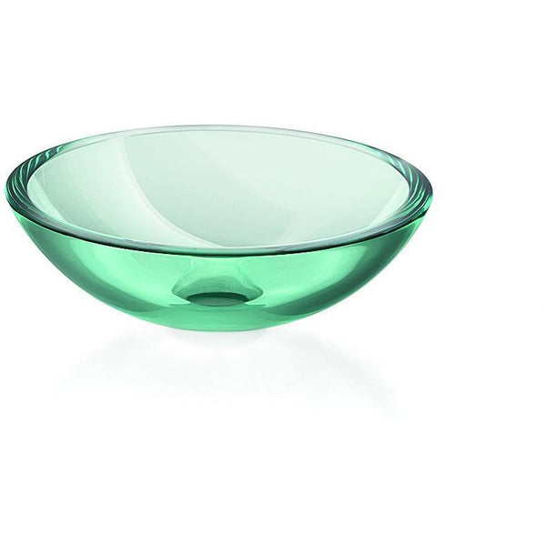 Lb Round Glass Vessel Sink Bowl Above Counter Sink