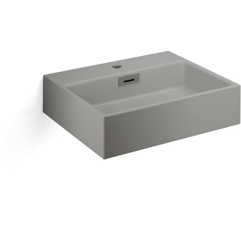 LB Quarelo Vessel Sink Above Counter Sink Lavatory Vanity Cabinet, Ceramic - More Color Options Available - AGM Home Store LLC