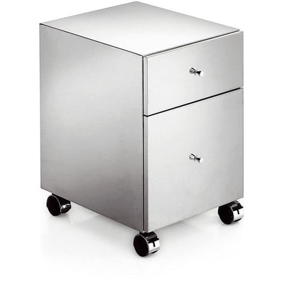 LB Runner Standing Steel Mobile Cabinet Storage Wheel Office File Cabinet - AGM Home Store LLC