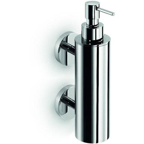 LB Duemila Wall Pump Soap Lotion Dispenser 220ml / 7.4 oz Kitchen Bath Chrome - AGM Home Store LLC