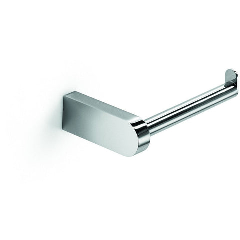 LB Muci Wall Toilet Paper Holder W/O Lid Tissue Roll Hanger Dispenser Chrome - AGM Home Store LLC