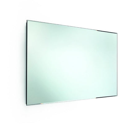 "LB Speci Wall Frameless Rectangular Horizontal Bevelled 5mm Mirror 39.4"" X 23.6"" - AGM Home Store LLC"