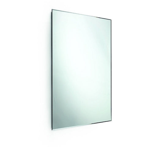 "LB Speci Wall Frameless Rectangular Vertical Bevelled 5mm Mirror 23.6"" X 31.5"" - AGM Home Store LLC"